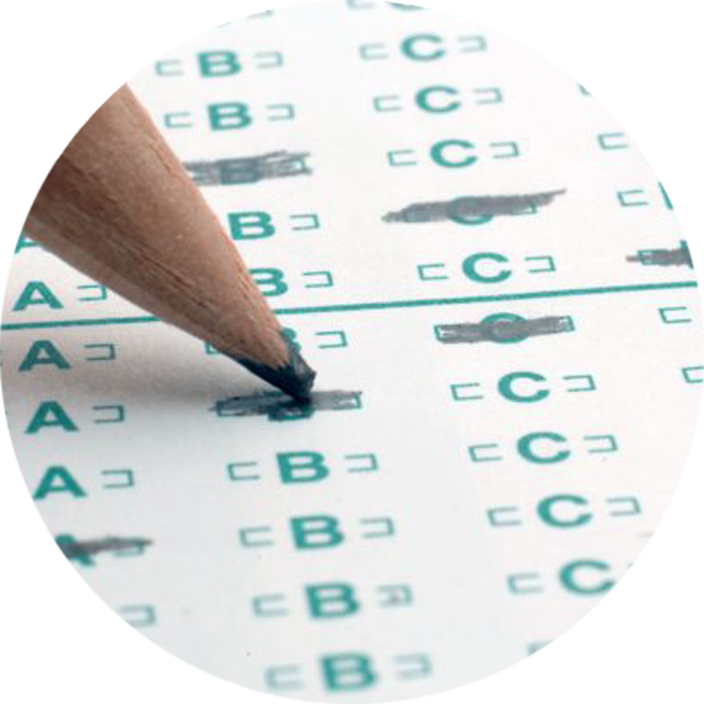 OpScan Answer Sheets and Blue Books